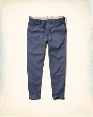 Hollister Skinny Pull-On Adjustable Hem Chinos