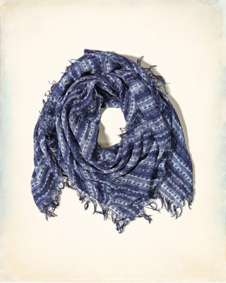 Lightweight Printed Scarf