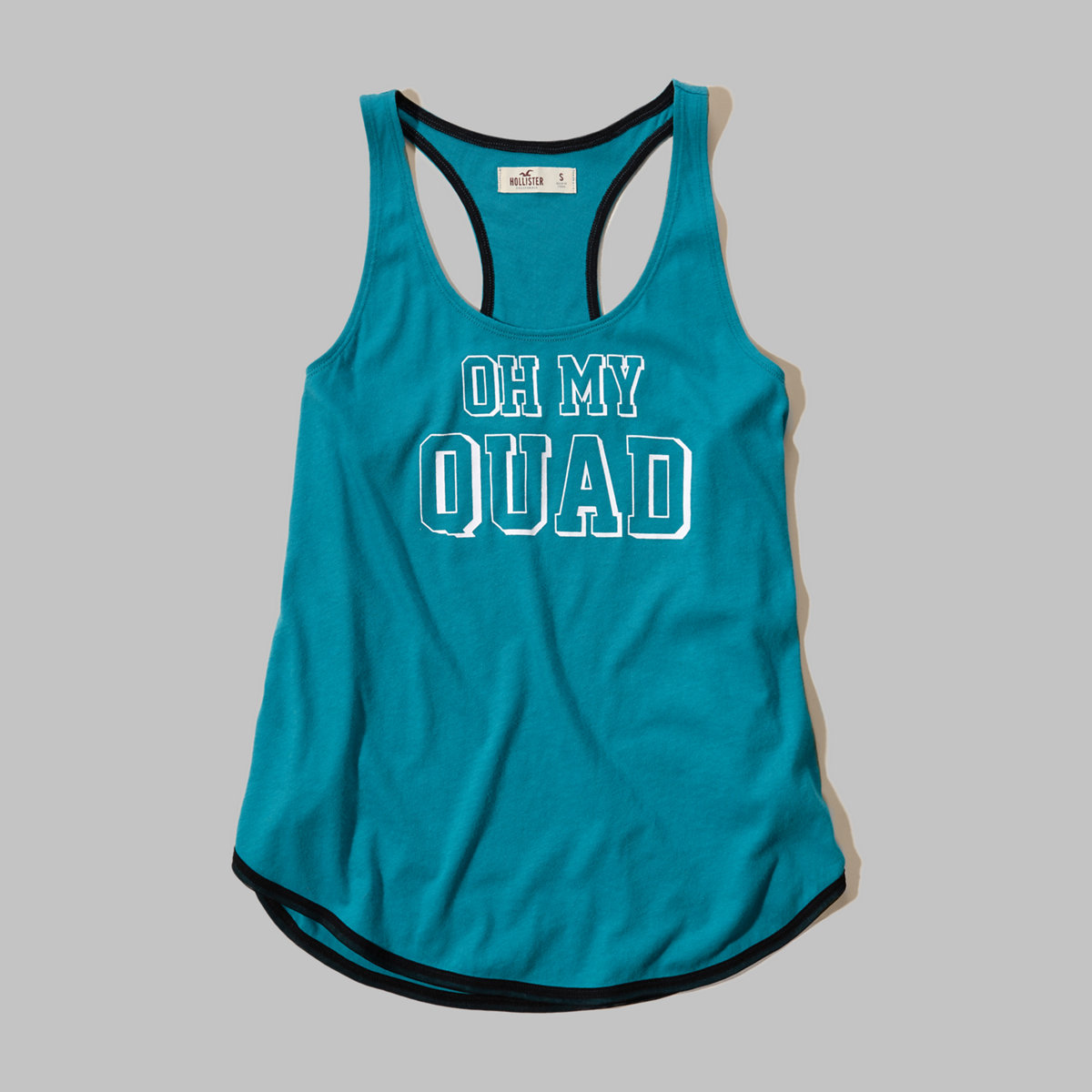 Hollister Cali Sport Graphic Swing Tank