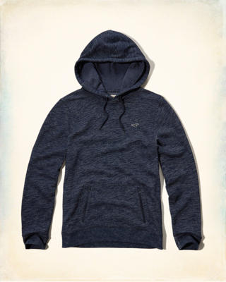 Textured Zip-Pocket Hoodie