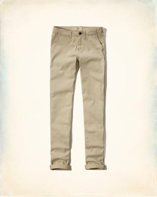 Hollister Straight Chinos