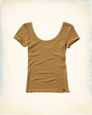 Ribbed Baby T-Shirt