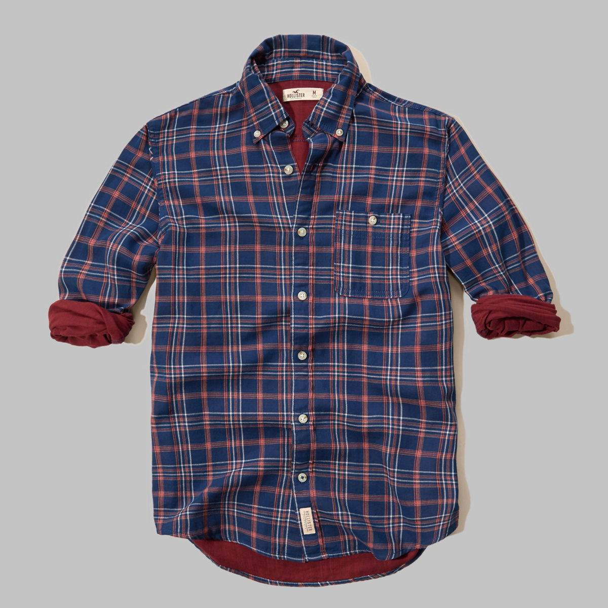 Duofold Plaid Poplin Shirt