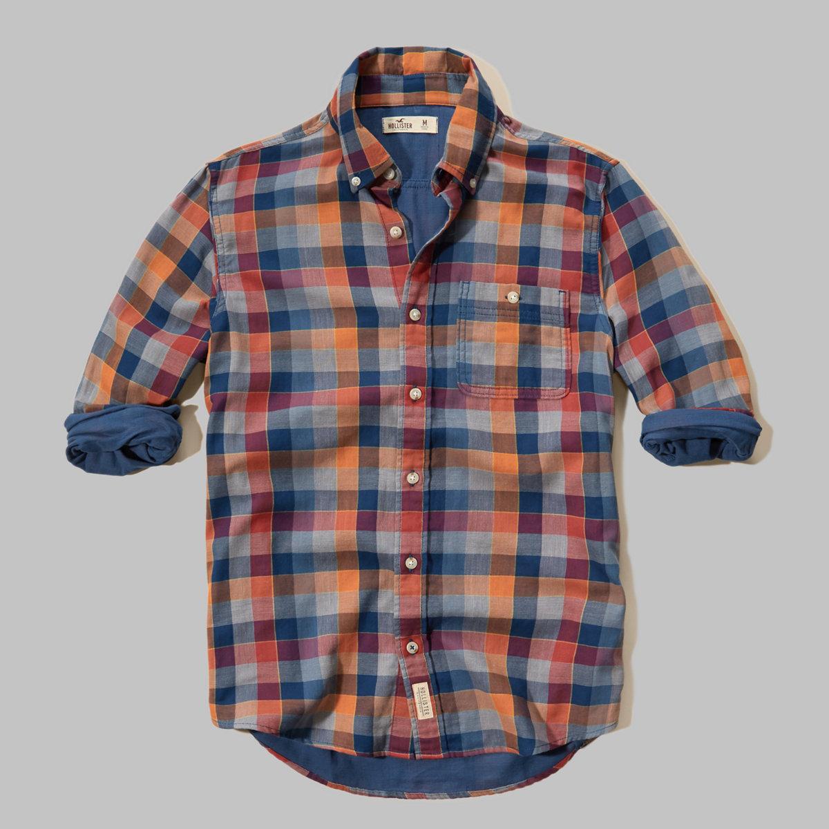 Duofold Plaid Poplin Shirt