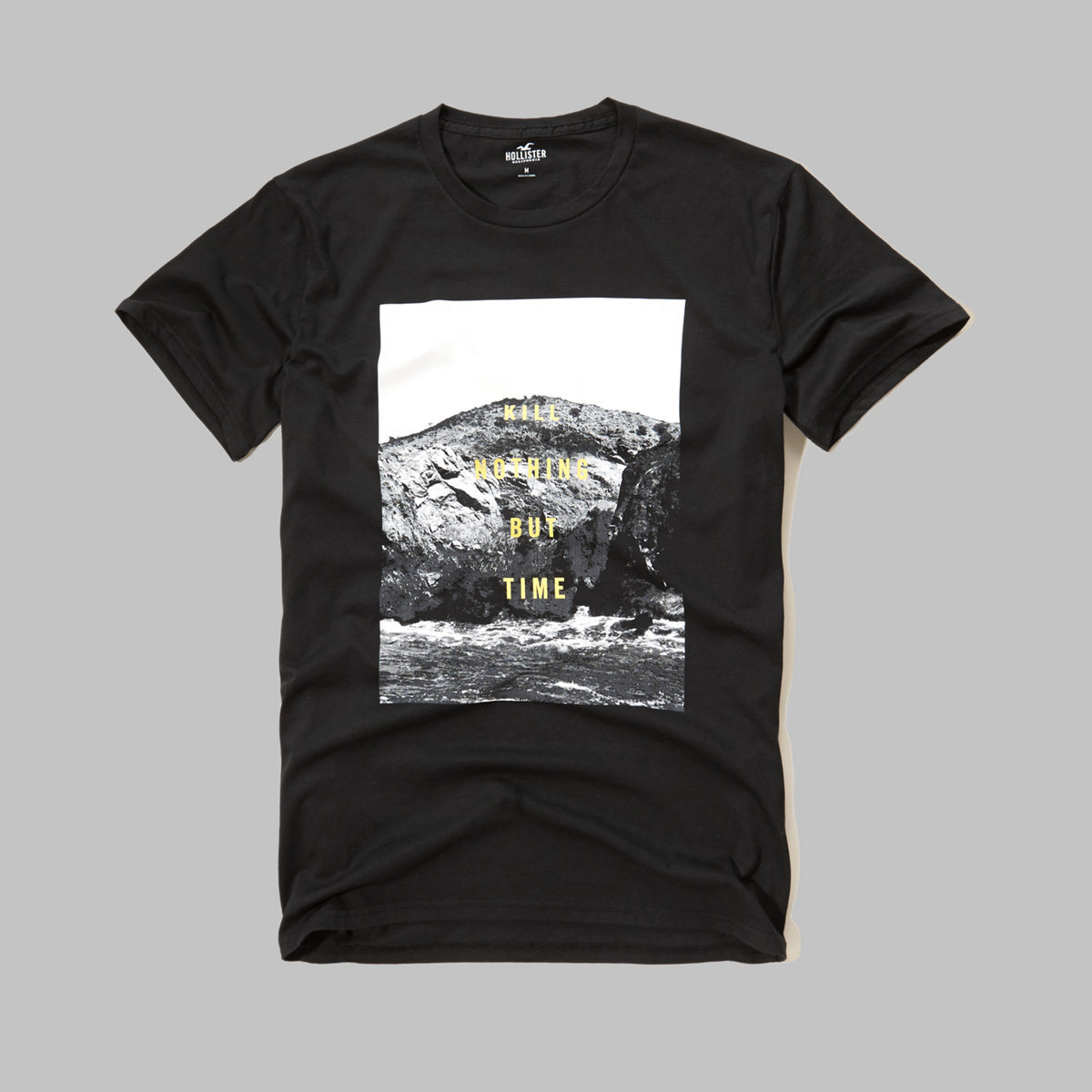 Printed Message Graphic Tee