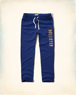 Hollister Ombre Embroidered Logo Sweatpants