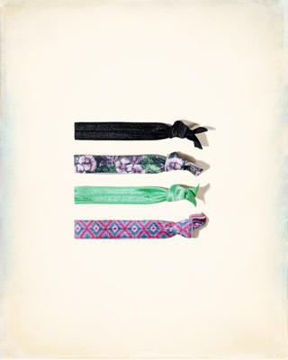 Patterned Hair Tie Pack