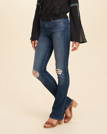 Hollister High Rise Boot Jeans