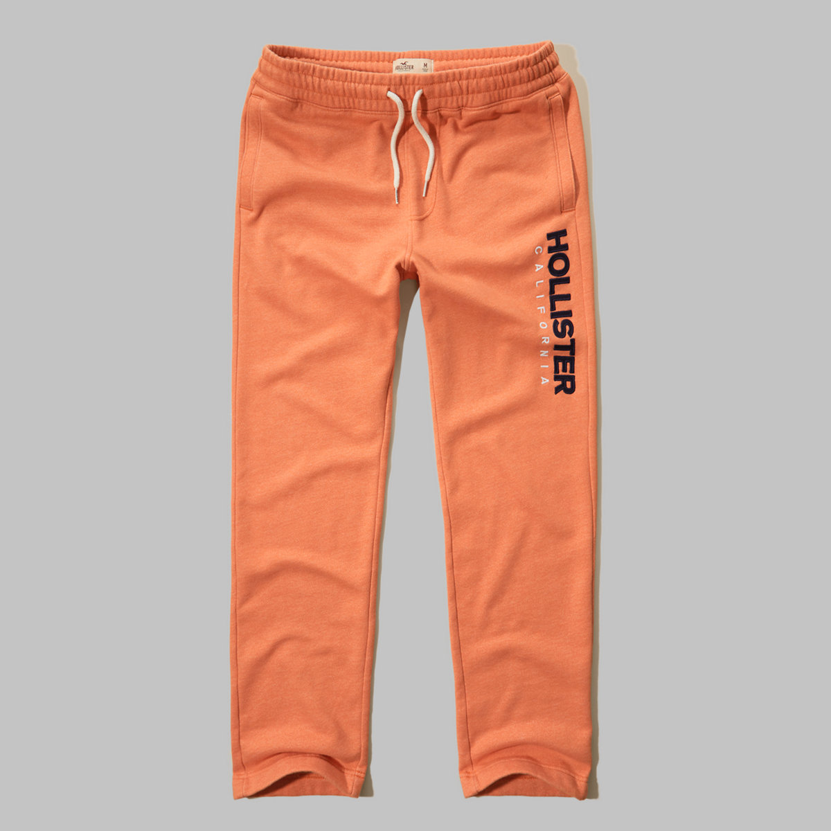 Hollister Textured Logo Graphic Sweatpants