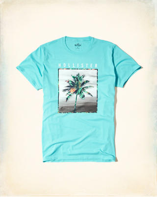 Printed Photoreal Graphic Tee