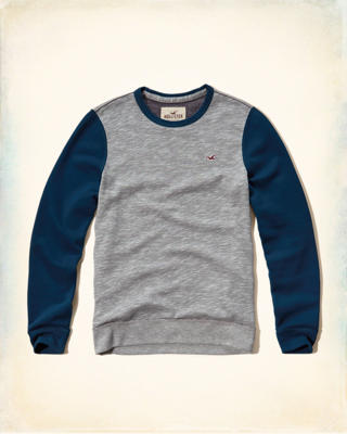 Colorblock Crew Sweatshirt
