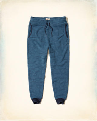 Hollister Textured Boucle Jogger Pants