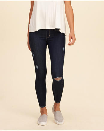 hol Low-Rise Crop Jean Leggings