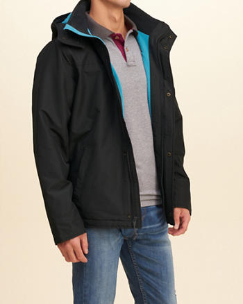 Hollister All-Weather Fleece Lined Jacket
