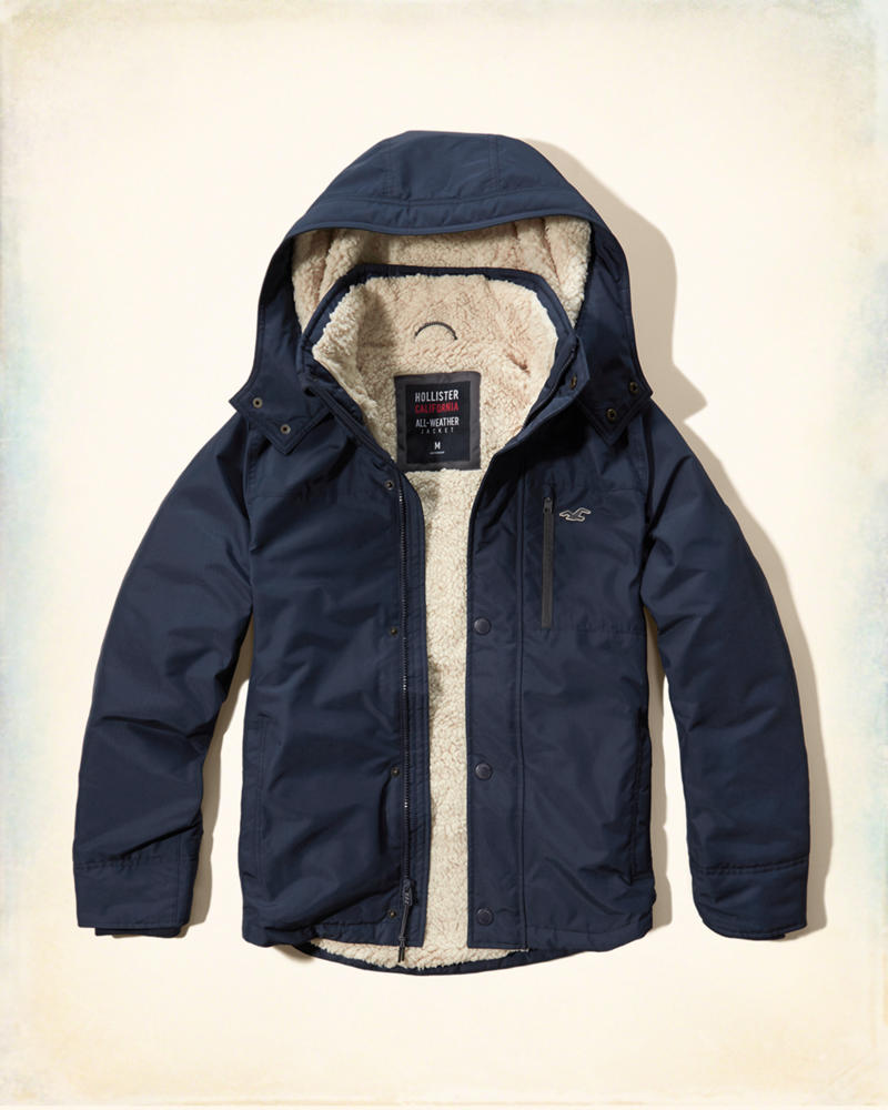 Hollister Jacke All Weather