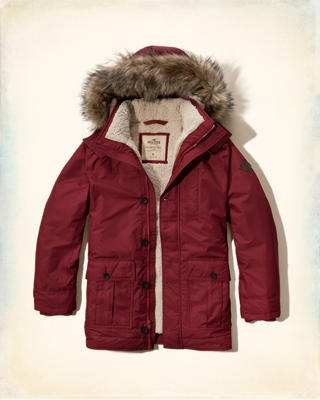 Hollister Coastal Trail Parka