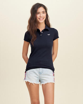 Iconic Slim Stretch Polo