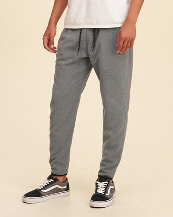 Hollister Thermal Fleece Jogger Pants