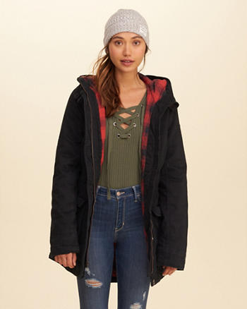 Flannel Lined Parka