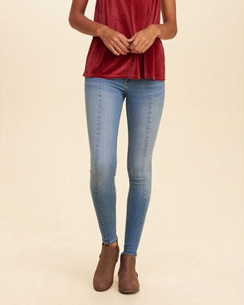 Hollister Low Rise Jean Leggings