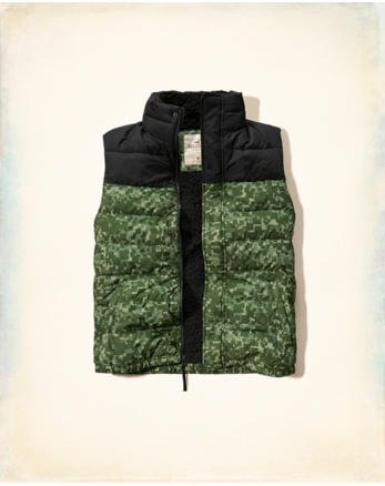 hol Sherpa Lined Puffer Vest