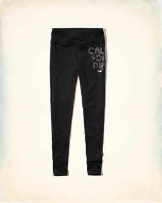 Hollister Cali Sport Graphic Legging