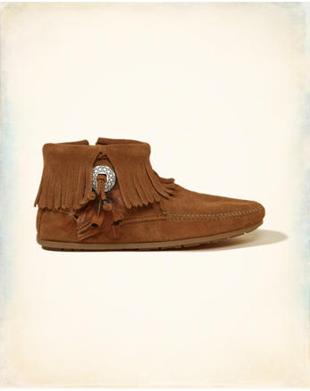 hol Minnetonka Concho Feather Boot