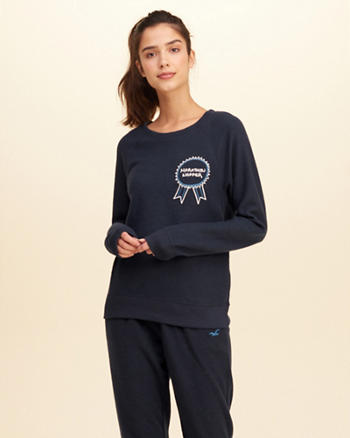 Reverse Fleece Graphic Sweatshirt