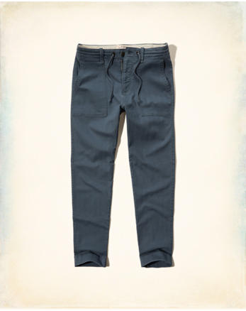 hol Hollister Taper Military Chinos