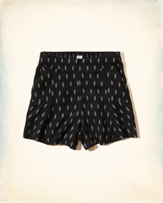High Rise Drapey Shorts
