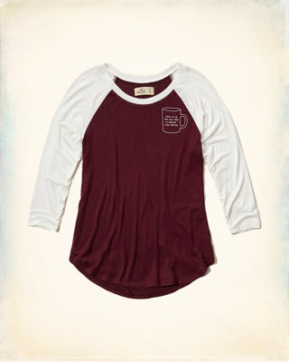 Graphic Raglan Tee