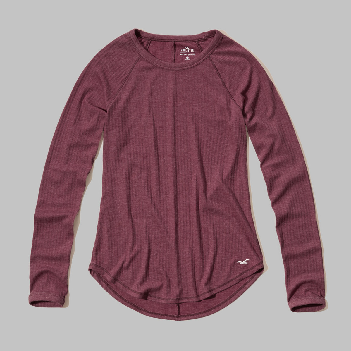 Must-Have Ribbed Crew T-Shirt