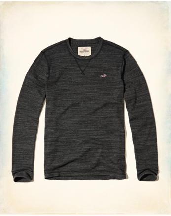 hol Textured Waffle T-Shirt