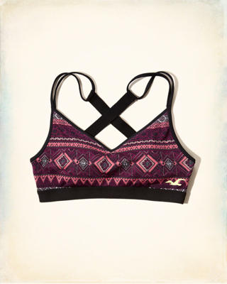Hollister Cali Sport Cross-Back Sports Bra