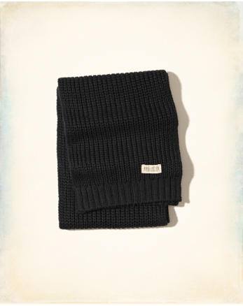 hol Sweater Knit Scarf