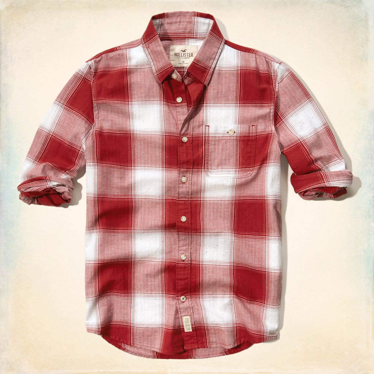 Plaid Brushed Cotton Shirt