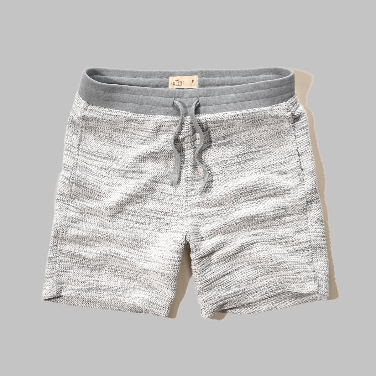 Hollister Beach Prep Fit Jogger Shorts