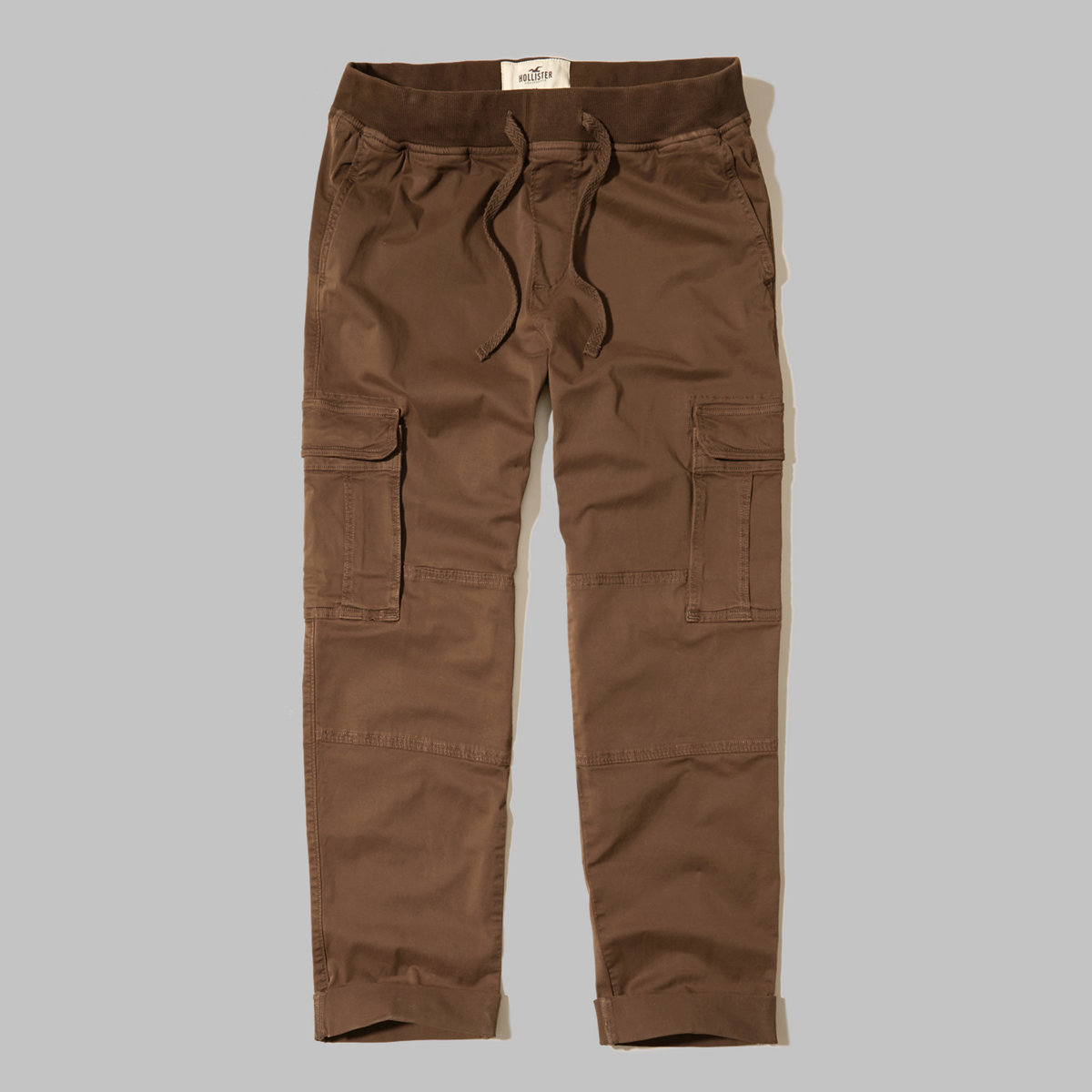 Hollister Pull-On Twill Cargo Pants