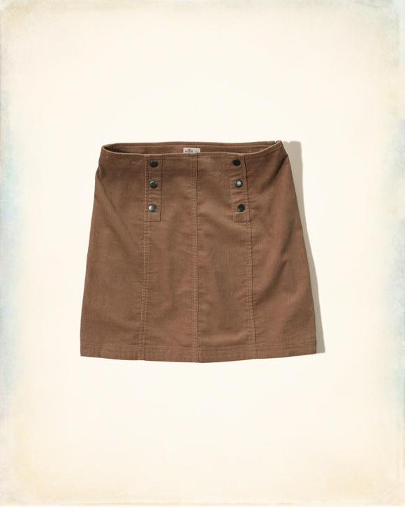 corduroy a line skirt clearance