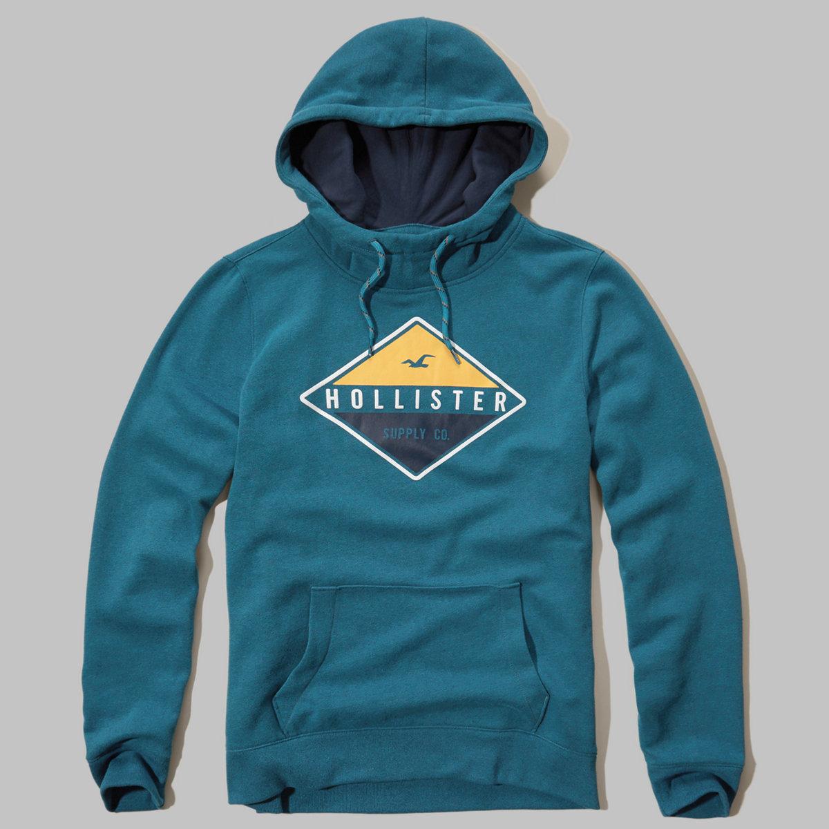 Printed Logo Graphic hoodie