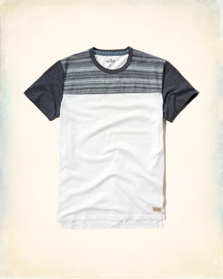 Textured Colorblock T-Shirt