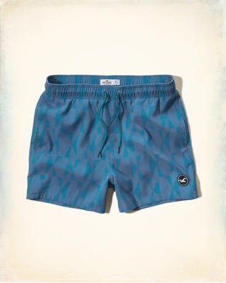 Beach To Street Guard Fit Swim Shorts