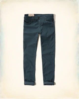 Hollister Skinny Five-Pocket Corduroy Pants