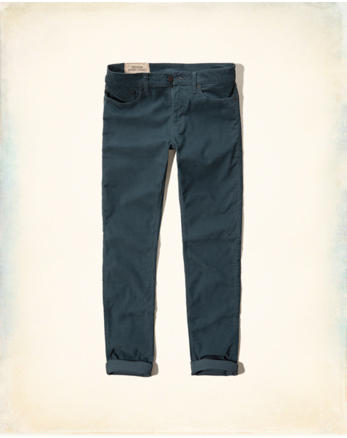 hol Hollister Skinny Five-Pocket Corduroy Pants