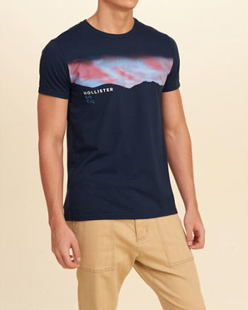 Photoreal Printed Graphic Tee