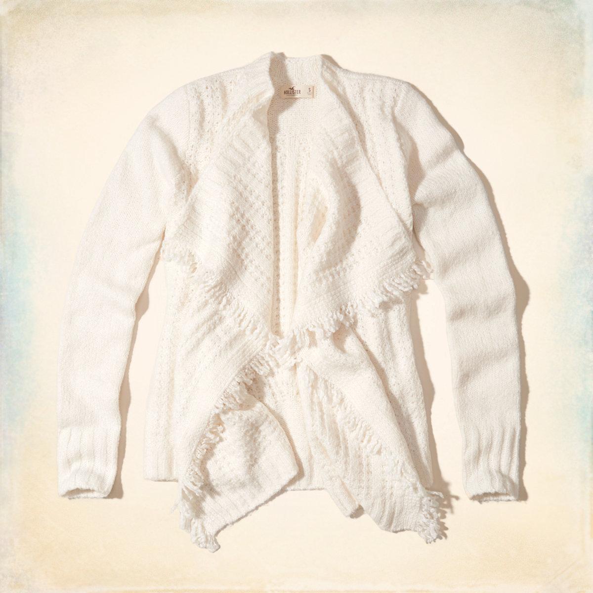 Fringe Blanket Cardigan