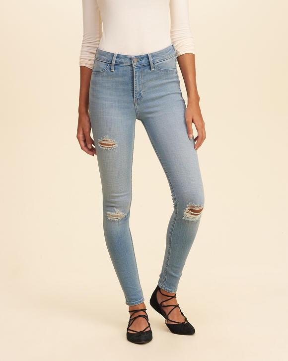 girls hollister highrise jean leggings girls bottoms