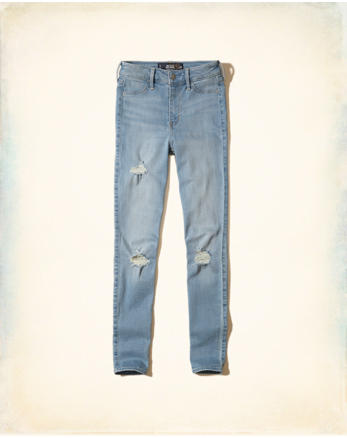 hol Hollister High-Rise Jean Leggings