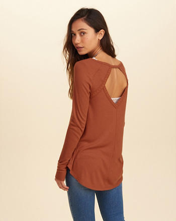 Open Back Swing T-Shirt