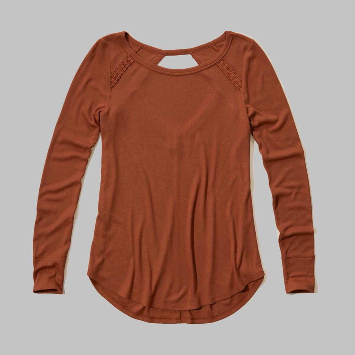 Open Back Swing T-Shirt